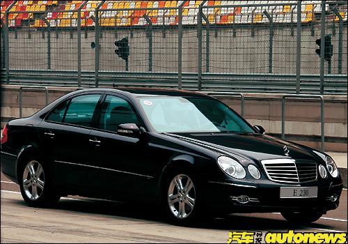 奔驰E230外观图片