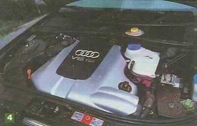 图为一汽奥迪A6 2.5TDi发动机-沉默中爆发 试驾奥迪A6 2.5TDi高清图片