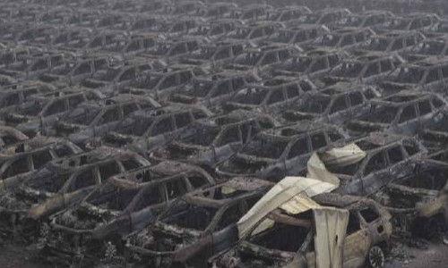 爆炸致万辆进口车受损 金额或达30亿