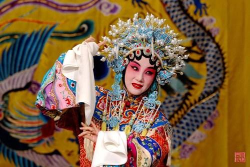 京剧,成为每次北京行锦上添花的点缀。(图:固山贝子)
