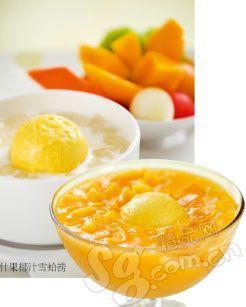 什果椰汁雪蛤捞