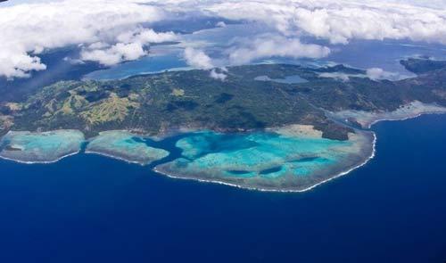 俯瞰斐济,美丽得令人惊叹