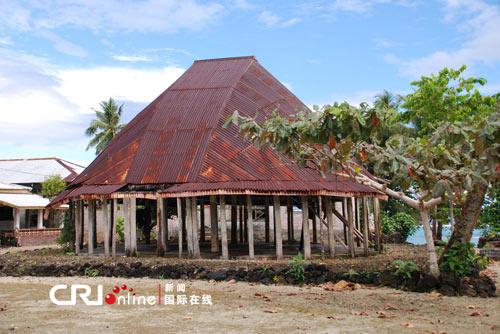 传统的法雷建筑