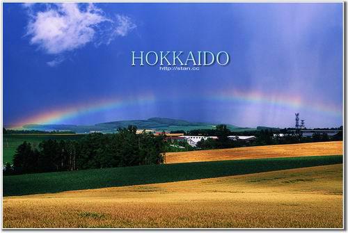 田野里 跟彩虹相遇
