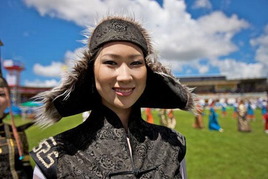 蒙古姑娘很漂亮