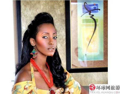 """埃塞俄比亚是名副其实的非洲""""美女之国"""""""