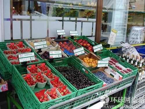 当地的水果市场