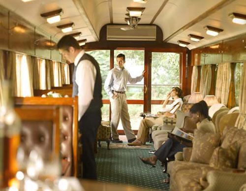 豪华的非洲之傲列车