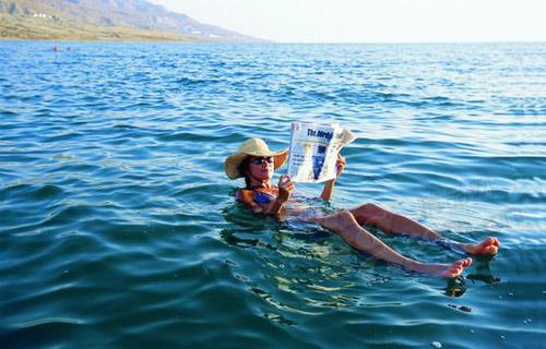 水上日光浴