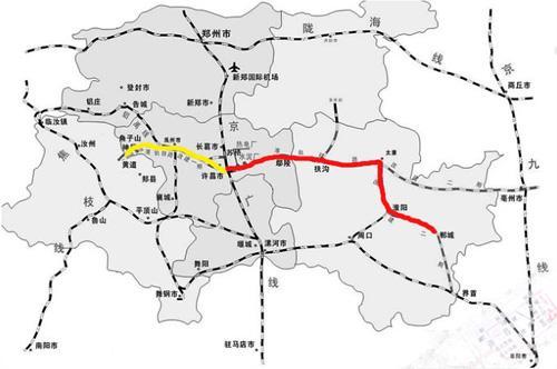 铁路线路图