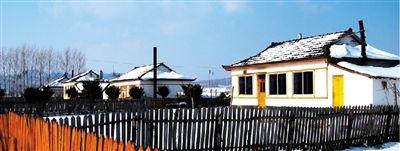 朝鲜族新村的小院