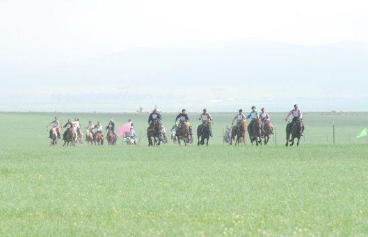 蒙古族女士技艺挑战赛