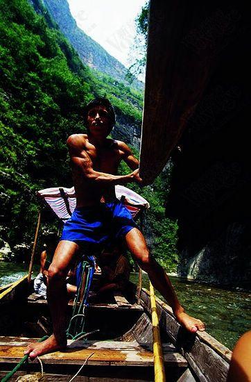 划船的船夫