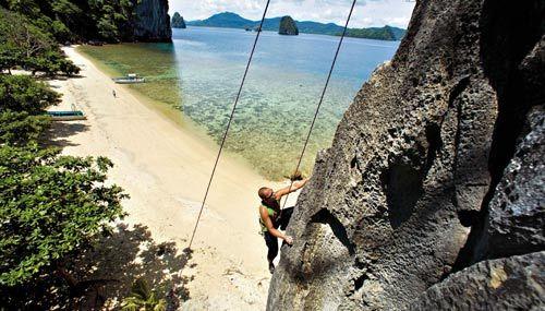 攀岩者的天堂