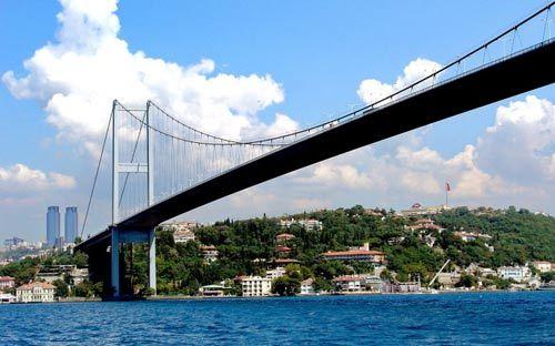 幽蓝色伊斯坦布尔 徜徉于博斯普鲁斯海峡(4)图片