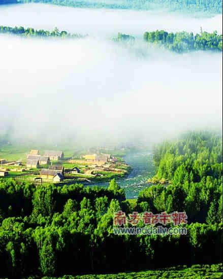 禾木晨雾 资料图片