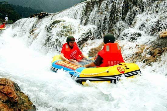 夏日湿身水上漂 盘点国内最适合漂流的胜地