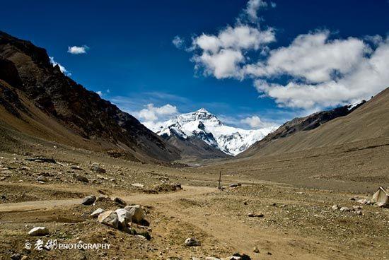 行走在去珠峰的路上