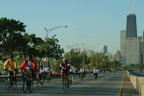 新浪旅游配图:芝加哥人崇尚绿色健康生活