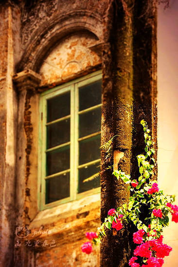 老式的窗户
