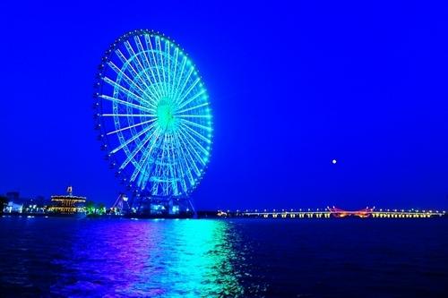 太湖之星夜景
