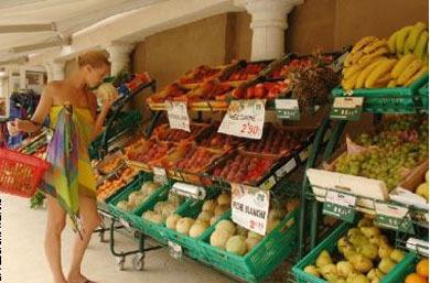 法国街头水果店