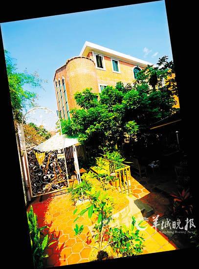 鼓浪屿上的娜雅NAYA咖啡家庭旅馆(史义君 CFP)
