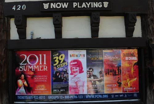 电影院的海报