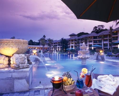 民丹岛酒店风情