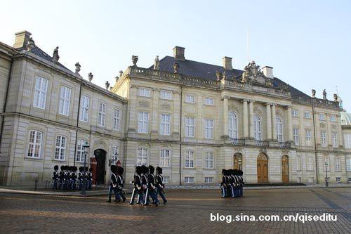 阿玛琳堡皇宫