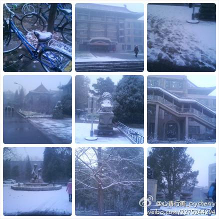 北大初雪(图片:)