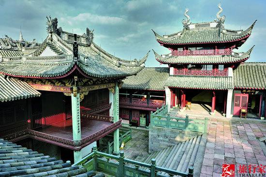 慈城的建筑得到了相应的保护