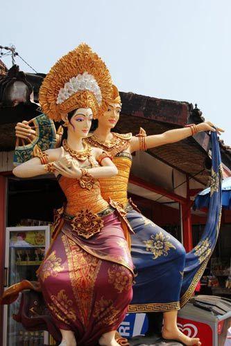 印尼神像 摄影:Sabrina