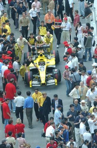 F1国际赛车场(范筱明 摄)
