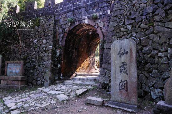 新浪旅游配图:仙霞关 摄影:江南驿