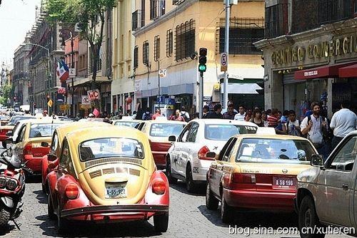 拥挤的街道