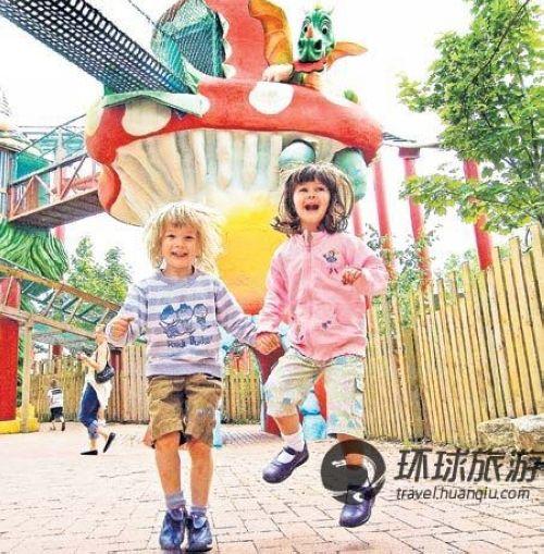 孩子们非常喜欢切辛顿冒险世界度假村酒店