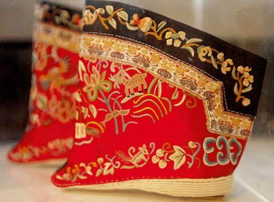 三寸金莲鞋