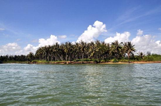 新浪旅游配图:椰子洲岛 摄影:王立敏