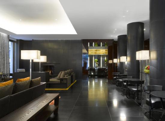 伦敦宝格丽酒店大厅