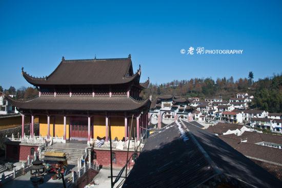 新浪旅游配图:九华山 摄影:老湖