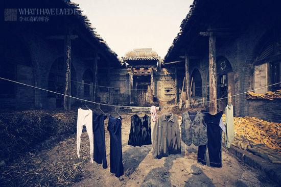 新浪旅游配图:平遥附近的古村 摄影:李双喜