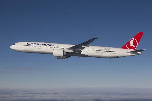 最新型的波音777-300er型飞机,包括商务舱,舒享舱和经济舱3个不同舱位