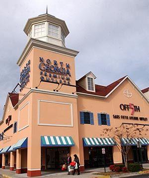 佐治亚州购物中心
