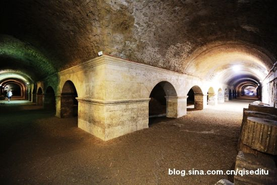 古罗马市场地下回廊