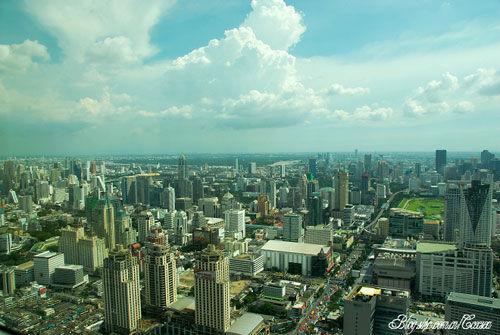 新浪旅游配图:俯瞰曼谷 摄影:海之舟