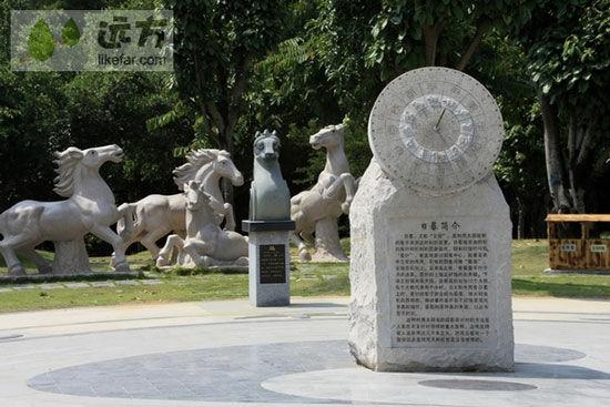 青秀山是南宁市重点开发的风景区