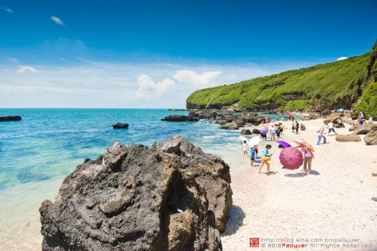 涠洲岛沙滩 图片来源:泡鱼儿 新浪博客