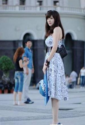 中国美女城市上海榜上有名