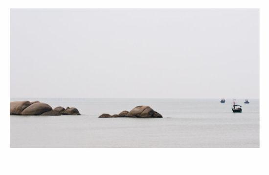 在海角边休息 图/老桨 新浪博客
